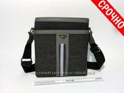 Молодежная сумка через плечо мужская стильная сумочка планшет арт-1453