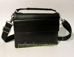 Небольшая мужская кожанная сумка через плечо арт-1300