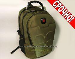 Рюкзак SwissGear для ноутбука цвет хаки арт-1223