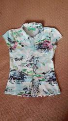 Трикотажная блузка Sela