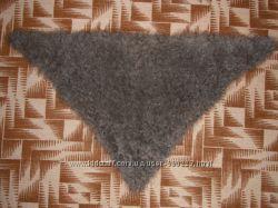 пуховый платок косынка толстой вязки новый