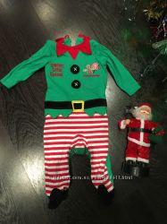 Человечек эльф. George. Костюм помощника Санта Клауса.