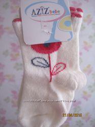 Носочки для новорожденной девочки от Aziz и OshKosh