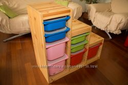 Комбинации для хранения TROFAST IKEA