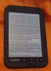 Электронная книга Texet TB-416 полосы на матрице