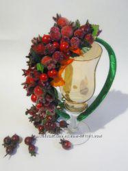 Обруч Спелый Шиповник  для праздника Осени