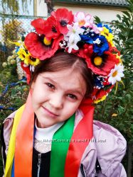 Венок украинский Панночка для детей и взрослых