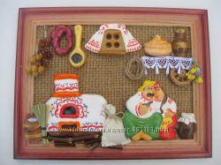 панно-хата, украинские сувениры