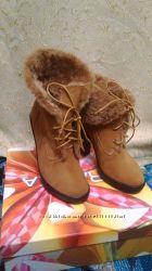 ботельены. ботинки . сапоги новые 37 размер. натурал