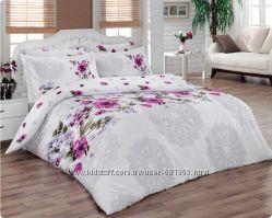 Mariposa Двухспальное постельное белье сатин де люкс Violette V1 lila