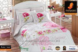 Mariposa Двухспальное бамбуковое постельное белье Rosa mar V1