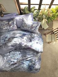 Cotton Box Постельное белье диджитал сатин Zaira mavi, Турция