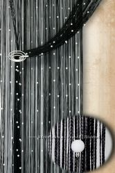 Нитяные шторы Декарт