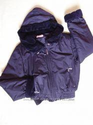 Куртка короткая на синтепоне холодная осеньвесна