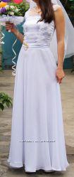 Акция Платье свадебное, на выпускной в хорошем состоянии