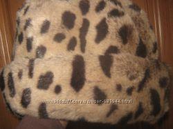 Шапка С&A леопардовая шляпа под леопард