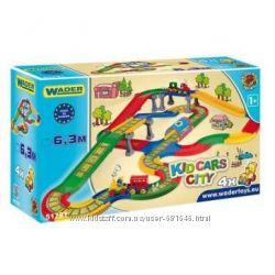Wader Городок Kid Car 6, 3 м 51791