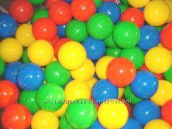 Шарики для сухого бассейна 6, 5см, 7, 2 см и 8, 2 см, интекс 49602