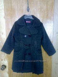 Детское пальто на девочку рост 116-120
