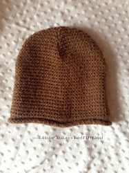 женская вязаная шапка Zara ширина 25, 5 см