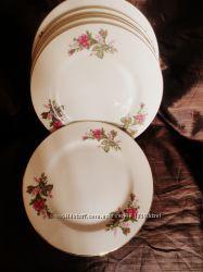Винтажные  фарфоровые тарелки  ms China Japan