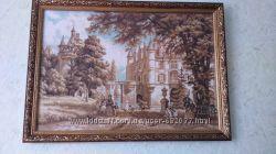 Картина В парке замка Шенонсо