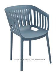Кресло пластик Лаунж, Вики, Патио, Шелл, Корнер, разные цвета, Скидки