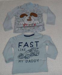 Распашонки, рубашки, регланы для новорожденных 0-9 мес