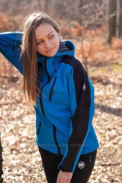 Куртка женская демисезонная Mаmmut софтшелл 1728
