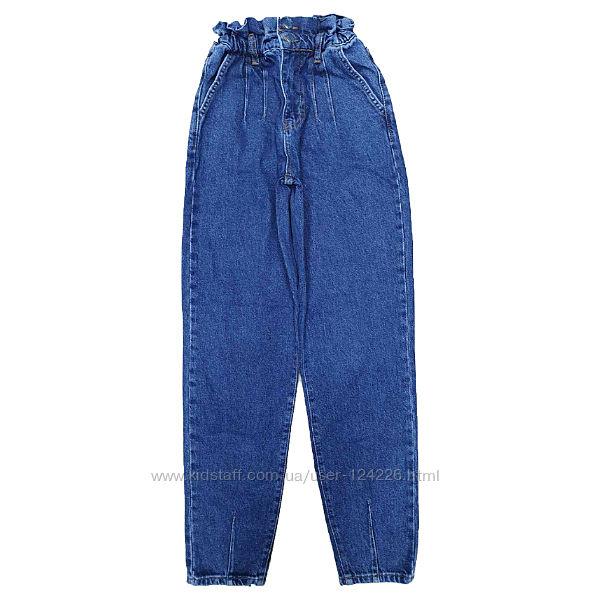 стильная новинка джинсы баллоны на резинке