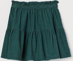 Вельветовая юбка H&M размер 6-8Y рост 122-128
