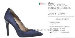Туфли Италия Вата размер 39 нат. кожа