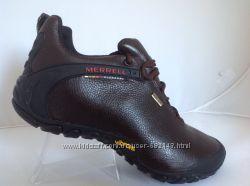 Мужские кожаные кроссовки Merrell мембрана  в наличии