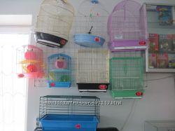 Клетки для птиц и грызунов. Новые