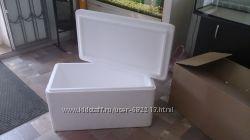 Пенопластовые коробки с крышкой