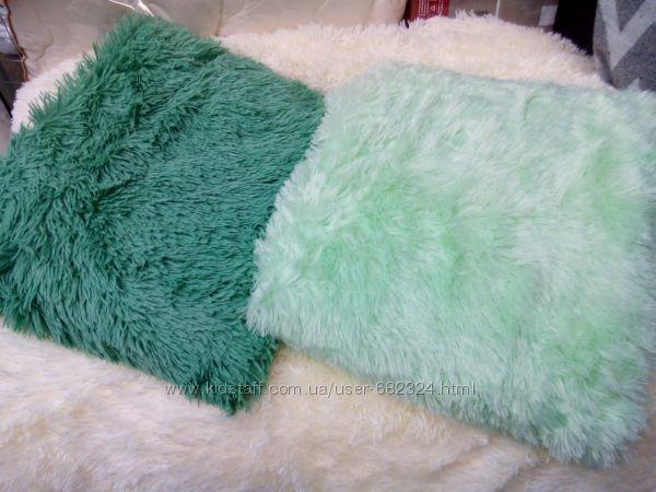 3 Покрывало мятное и зеленое