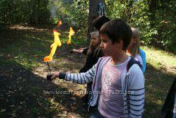 Мастер-классы для детей по фаер-шоу и стрельбе из лука или арбалета