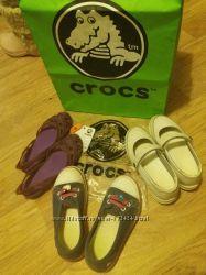 Crocs оригинал балетки J2 21, 7 см