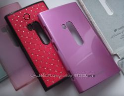 Бампер для Nokia Lumia 920 чехол, накладка