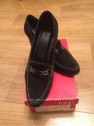 Замшевые туфли Hogl в идеале