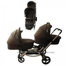 Универсальная коляска для двойни ABC Design Zoom с аксессуарами Cuba Гарант