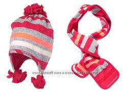 Набор шапка, шарф и перчатки Crazy8 на 2-3 года