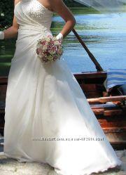 вечернее, выпускное, свадебное платье с аксессуарами в подарок
