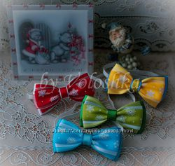 Новогодний галстук-бабочка. Новорічний метелик
