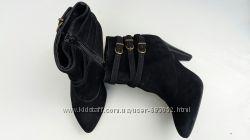 Новые женские ботильоны, ботинки, бренд, замшевые, кожаные, 38 р