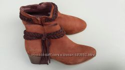 Новые женские ботинки, ботильоны, бренд Andre, кожаные, 37 р.