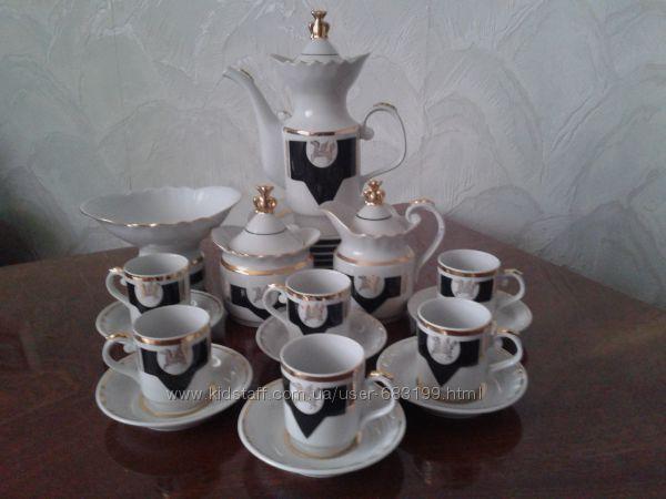 Кофейный сервиз ПЕГАС