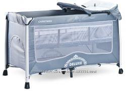 Детская кровать манеж Caretero Deluxe