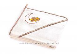 Детское махровое полотенце с уголком Sensillo Медвежонок