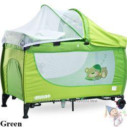 Новый манеж-кровать Caretero Grande